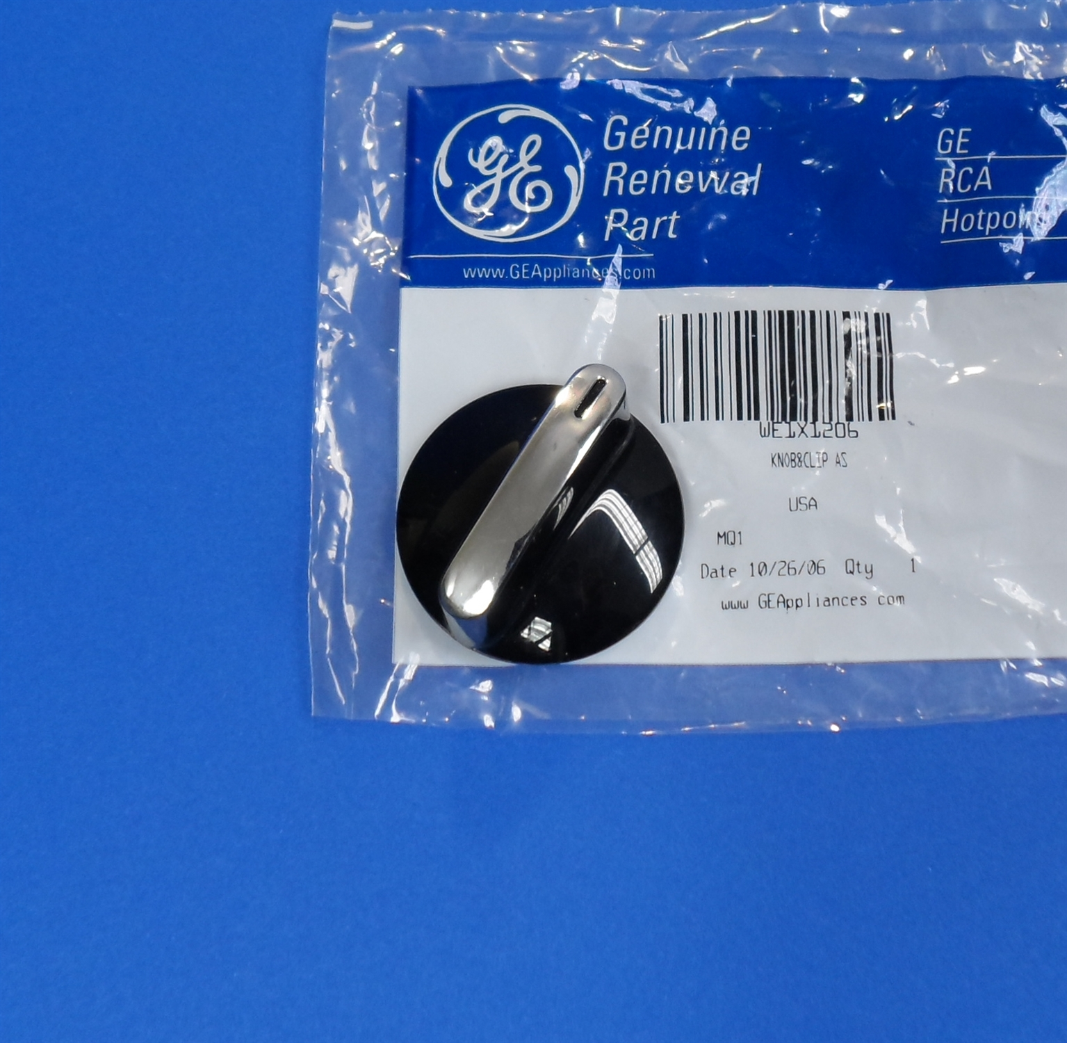 GE Washer Dryer Selector Knob Black WE1X1206 at Sears.com